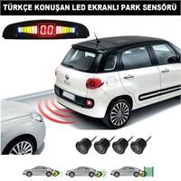 AutoCet SİYAH Sensörlü TÜRKÇE KONUŞAN Park Sensörü 4218a