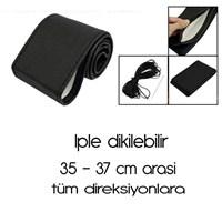 ModaCar Vinil Deri Sarmalı Direksiyon Kılıfı SİYAH 1832401