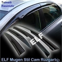 Elf Peugeot 306 Mugen Cam rüzgarlığı