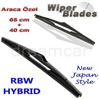 Rbw Hybrid Toyota Auris 2007-2012 Arası Kasa İçin Muz Silecek Takım 65Cm+40Cm 292602