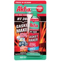 Akfix HT300 Yüksek Isı Silikonu 098899
