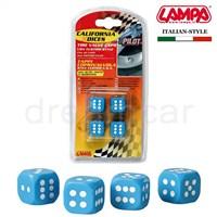 Pilot California Dices Mavi Sibop Kapağı 4'lü Set 02463