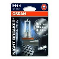 OSRAM Night Breaker Unlimited H11 Ampul+ %110 Fazla Beyaz Gün Işığı 4000K