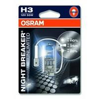 OSRAM Night Breaker Unlimited H3 Ampul+ %110 Fazla Beyaz Gün Işığı 4000K