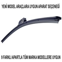 Silecek Marka Model Uyumlu 9 Aparatlı 50 cm