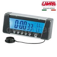 Dreamcar Seyio K-9 Lcd Saat+İç Dış Termometre+Alarm