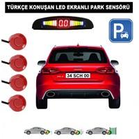 Schwer Kırmızı - Türkçe Konuşan Park Sensörü