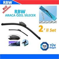 RBW PEUGEOT 207 2009 >Sonrası Araca Özel Silecek Süpürgesi (SAĞ/SOL 2'li Set )