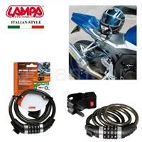 Lampa No-Ride Combi Çelik Kilit 4 Şifreli 100 cm 90608
