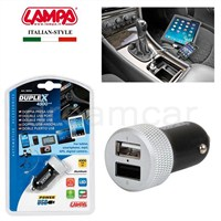 Lampa Duplex 4500 mA 2 Usb Çıkışlı Şarj Soketi 38959