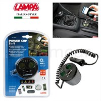 Lampa Power Cup 3-in-1 Şarj Soketi 39040