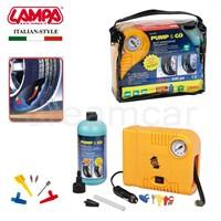 Lampa Pump&Go Lastik Tamir Edici+300 Psi Kompresör Kit 72153
