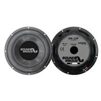 Soundmagus Sm 12P 30 Cm Çift Bobin 1600W Subwoofer 4+4 Ohm