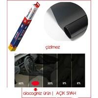 ModaCar ÇİZİLMEZ AÇIK SİYAH Cam Filmi ( 50 cm X 6 mt - 3 Metrekare )