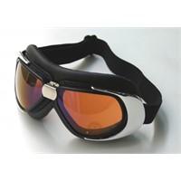 Prosev SG 1016 Chopper Model Retro Gözlük Lastikli (Renkli Camlı)