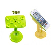 Borup Süper Vantuzlu Yeşil Telefon Pda Navigasyon Tutucu