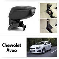 Schwer Chevrolet Aveo Koltuk Arası SİYAH Kol Dayama Kolçağı-8407