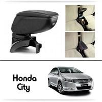 Schwer Honda City Koltuk Arası SİYAH Kol Dayama Kolçağı-8423