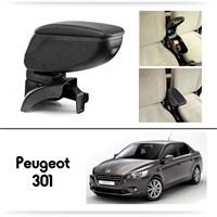 Schwer Peugeot 301 Koltuk Arası SİYAH Kol Dayama Kolçağı-8440