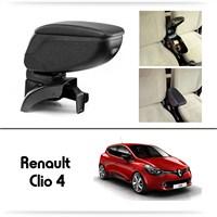 Schwer Renault Clio 4 Koltuk Arası SİYAH Kol Dayama Kolçağı-8444