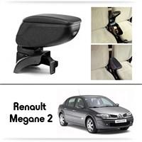 Schwer Renault Megane 2 Koltuk Arası SİYAH Kol Dayama Kolçağı-8446