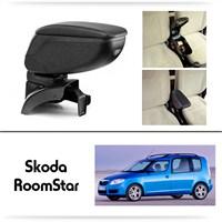 Schwer Skoda RoomStar Koltuk Arası SİYAH Kol Dayama Kolçağı-8449