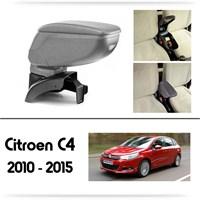 Schwer Citroen C4 2010-2015 Koltuk Arası GRİ Kol Dayama Kolçağı-8458