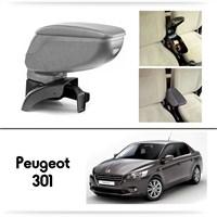 Schwer Peugeot 301 Koltuk Arası GRİ Kol Dayama Kolçağı-8488