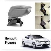Schwer Renault Fluence Koltuk Arası GRİ Kol Dayama Kolçağı-8493