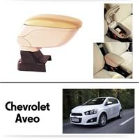 Schwer Chevrolet Aveo Koltuk Arası BEJ Kol Dayama Kolçağı-8503