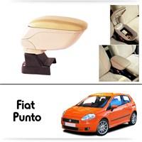 Schwer Fiat Grand Punto Koltuk Arası BEJ Kol Dayama Kolçağı-8510
