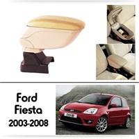 Schwer Ford Fiesta 2003-2008 Koltuk Arası BEJ Kol Dayama Kolçağı-8513