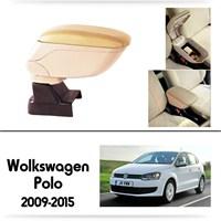 Schwer Volkwagen Polo 2009-2015 Koltuk Arası BEJ Kol Dayama Kolçağı-8550