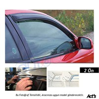 Schwer Honda Civic (2001-2006) Ön Cam Rüzgarlığı Seti-8133
