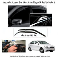 Schwer Hyundai Accent Era Ön-Arka 4 Cam Rüzgarlık Seti-8204