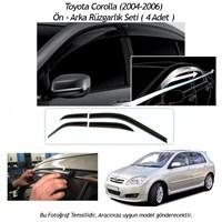 Schwer Toyota Corolla (2004-2006) Ön-Arka 4 Cam Rüzgarlık Seti-8209