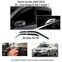 Schwer Toyota Corolla (2007-2013) Ön-Arka 4 Cam Rüzgarlık Seti-8210