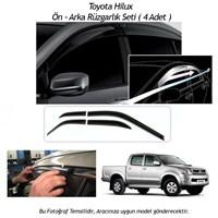 Schwer Toyota Hilux Ön-Arka 4 Cam Rüzgarlık Seti-8213