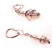 Acts Bijon Anahtarı Tasarımlı Metal Anahtarlık 8387