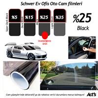 Schwer Cam Filmi 50 Cm x 6 Metre % Black-( 3 m2) Çekme Aparatlı