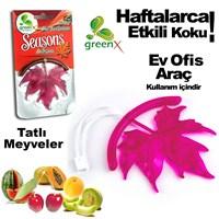 Automix Asmalı 3D Yaprak Koku Tatlı Meyveler