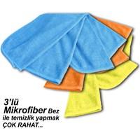 Automix Mikrofiber 3lü Temizlik Bezi