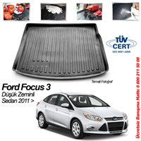 Ford Focus 3 Sedan Bagaj Havuzu 2011 D.z