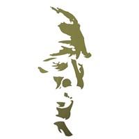 ModaCar Atatürk Siluet Gold Sticker 06a072