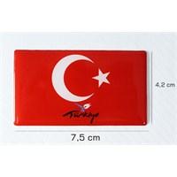 ModaCar Türk Bayrağı PVC Damla Kabartma 06a115