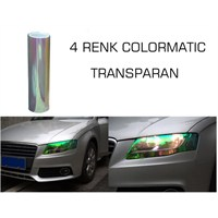 ModaCar 4 RENK COLORMATIC TRANSPARAN Far Stop Filmi 102408