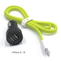 ModaCar 2 USB Girişli Iphone 5-6 Araç İçi Şarj Seti 102435