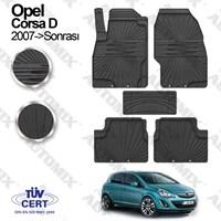 İmage Opel Corsa D Oto Paspas Siyah