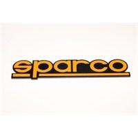 Sparco Turuncu 3D Görünümlü Sticker 11 x 2 cm