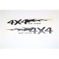 4x4 OOF ROAD Sticker 15 x 3 cm